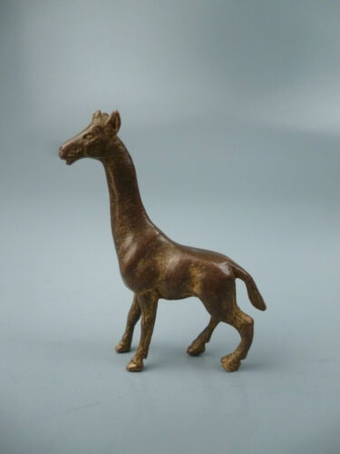 Old or Antique Miniature Vienna Bronze Figurine Giraffe - Sculpture Austrian BR
