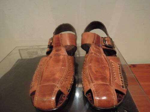 LE ROY SOUTH AFRICA LEATHER SANDALS SIZE 42