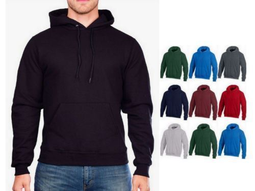 Champion Eco Fleece Pullover Hoodie Ultra Warm Hooded Jumper Sweatshirt- S700