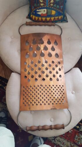 Authentic Signed Curtis C Jere HUGE GRATER  Wall Sculpture Mid Century Modern