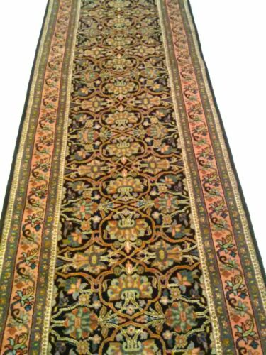 """Luxury Hand Knotted Runner New Zealand Wool Rug 169"""" x 32"""""""