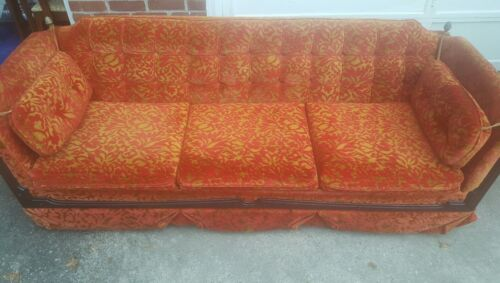 Sofa / Couch retro vintage 60's 70s Brutalist Spanish  Mediterranean Hollywood
