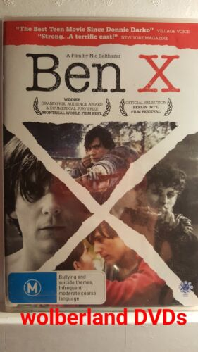 Ben X [ DVD ] BRAND NEW & FACTORY SEALED, Region 4, FREE Next Day Post