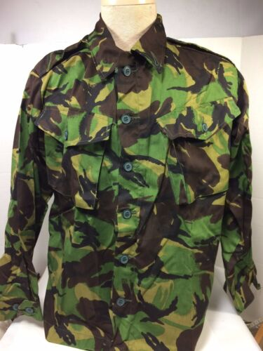 British DPM Tropical Camo Jungle Shirt Size Medium, LightweightOriginal Period Items - 156451