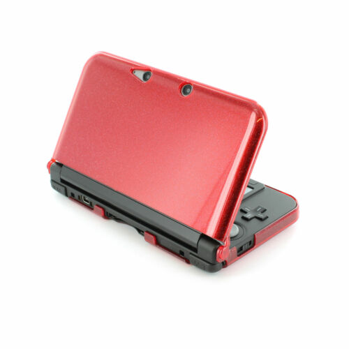 Protective case for 3DS XL (2012) Nintendo shell cover - Glitter Red   ZedLabz