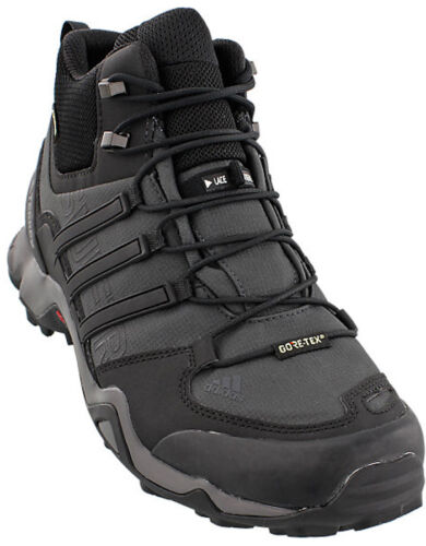 Adidas Men's Outdoor Terrex Swift R Mid GTX Hiking Shoes - BB4639
