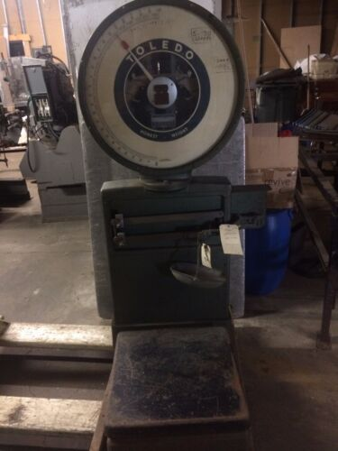 Toledo Honest Weight Scale  Great deorator item 2 different scales You pick one.