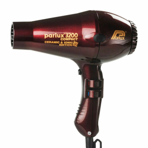 Parlux 3200 Ionic & Ceramic Edition Compact Hair Dryer - Chocolate Cherry Sal...