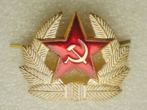 781782a5dbd Kokarda Original USSR Soviet Union Russia Army Red Star Hat pin badge