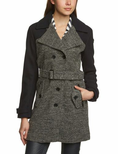 Womens Tom Tailor Wool Trench Coat Last Size S ( 10)