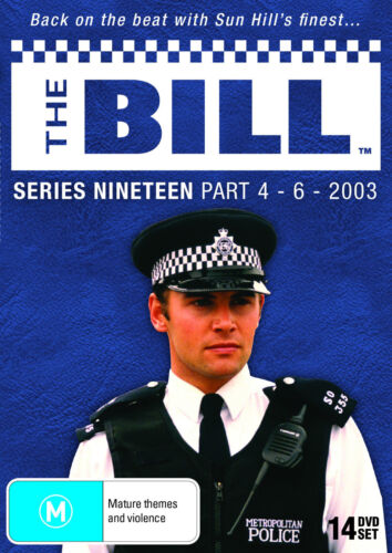 The Bill : Series 19 : Part 4-6 (DVD, 2013, 14-Disc Set)--FREE POSTAGE