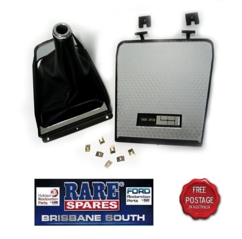 Boot Kit 4Spd BLACK HQ HJ LH LX Surround Holden Manual Gear Shift Console Lid