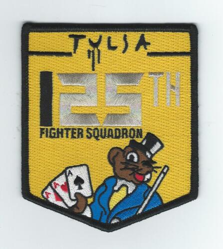 """125th FIGHTER SQUADRON """"25 YEARS F-16's"""" (THE LATEST) patchAir Force - 48823"""