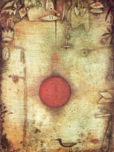 Ad Marginem  by Paul Klee   Giclee Canvas Print Repro