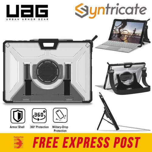 UAG MILITARY STD CASE HAND/SHOULDER STRAP FOR SURFACE PRO 7+/7/6/5/4 -BLACK