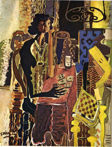 The Patience  by Georges Braque  Giclee Canvas Print Repro
