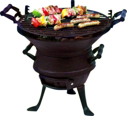 Petromax Feuergrill tg3 Grill Grill Shell Fire Bowl Cast Iron Grill Roast For