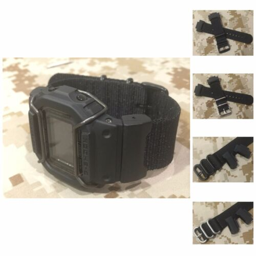 JaysAndKays® Convertible Adapters and Strap Kit for Casio GShock 5600 5610