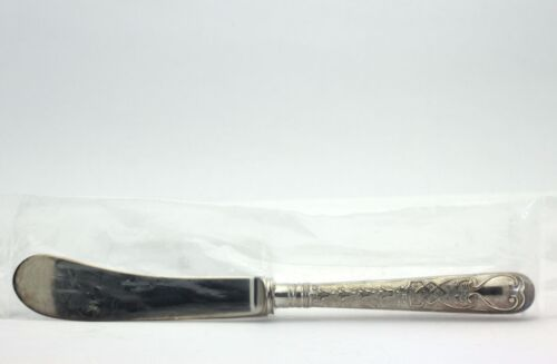 Antique CJ Vander Elizabethan Sterling Silver Individual Butter Spreader