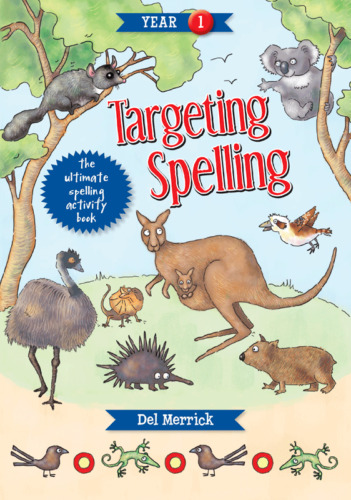 TARGETING SPELLING ACTIVITY BOOK 1 9781925490190 FREE SHIPPING
