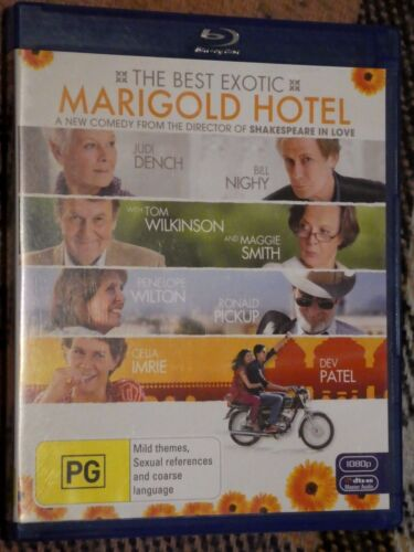 Best Exotic Marigold Hotel - Judi Dench (Blu-ray, Region B) g5