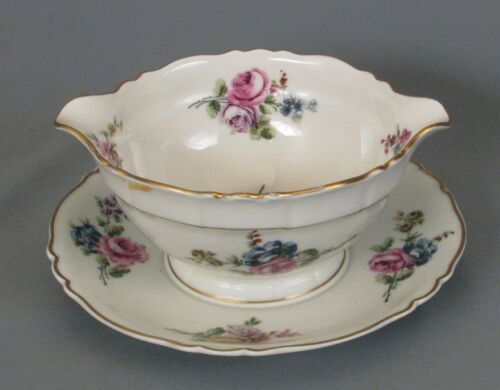 Haviland Chantilly Gravy with Fast Stand - Louis XIV Blank