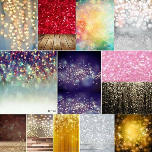 3x5ft/5x7ft Dreamlike Haloes Photography Background Dazzling Photo Backdrop Prop