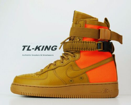 Nike SF AF1 QS Desert Ochre Special Field Air Force 1 903270-778 Msrp $180 Cm