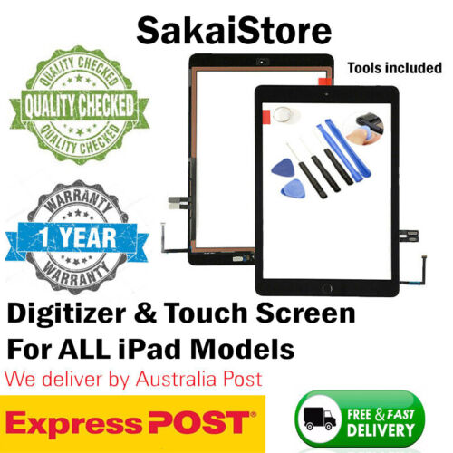 Digitizer Touch Screen Glass Replacement For iPad Air 1 2 3 4 5 6 7 Mini 4 3 2 1