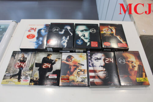 """""""Brand New and Sealed' 24 SEASON 1-8 with the movie redemption region 1"""