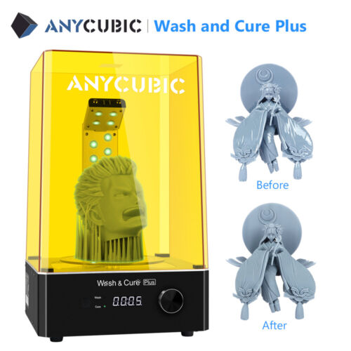 "New ANYCUBIC Photon UV Resin SLA Lighting-Cure 2.8"" Touch Screen FEP 3D Printer"