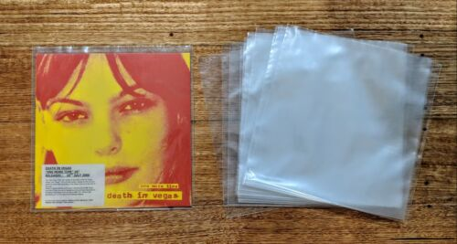 """10 x RECORD SLEEVES PLASTIC COVERS OUTER for Vinyl 10"""" Records Aust Made"""