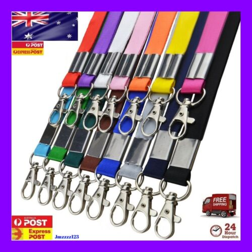 Lanyard ID Key Holder Clip Name Tag ID Card Holder Neck Strap **AUSSIE SELLER**