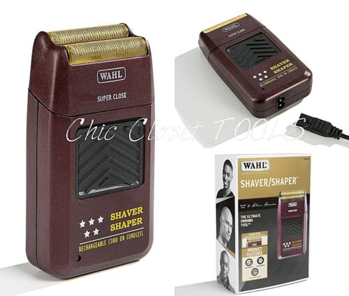 Wahl 8061 Professional 5 Star Cord/Cordless Rechargeable Shaver Shaper Trimmer