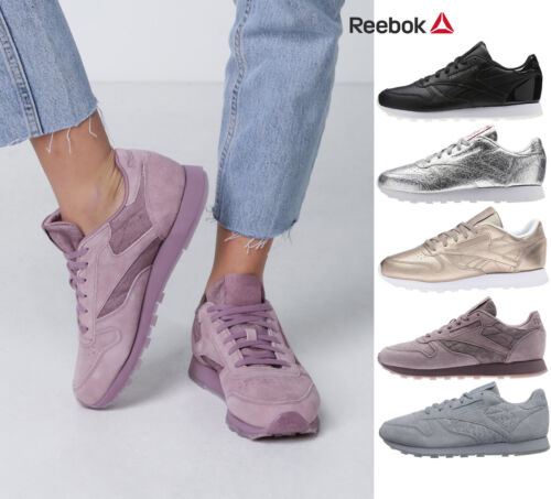 Womens Reebok Classic Leather Retro Heritage Casual Sneakers Limited Edt NEW