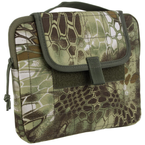 """Mil-Tec MOLLE Tablet Case 12"""" Padded Etui Cover Army Tactical Mandra Wood Camo"""
