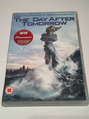 The Day After Tomorrow DVD UK Region 2
