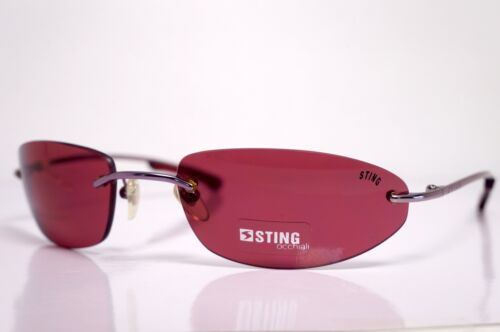 New Sting women mujer 4477 62 C21 gafas vintage occhiali sole sunglasses