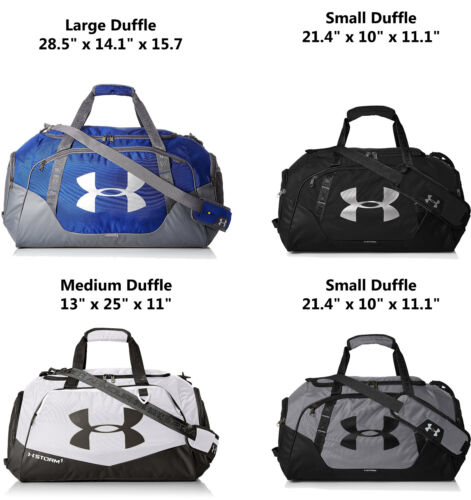 Under Armour Undeniable 3.0 Duffle Bag Small/Medium/Large Pick Size Color NEW