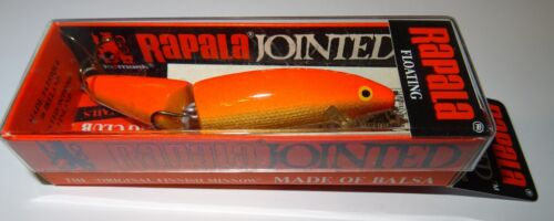 RAPALA JOINTED - J -9 -  MADE IN IRELAND - 9cm - 7gr