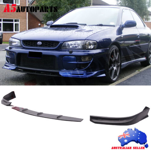 ea9980e9067 Fit For 97-01 Subaru Impreza WRX GD Style Front Bumper Lip Urethane 3 Piece