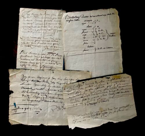 17th -18th century Handwritten Manuscripts Collection