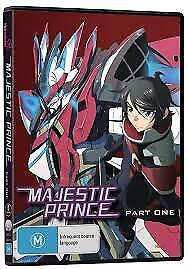 Majestic Prince Part One DVD ( Region 4 ) BRAND NEW