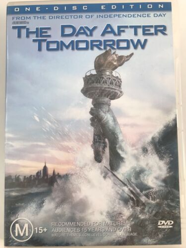 THE DAY AFTER TOMORROW DVD R 4