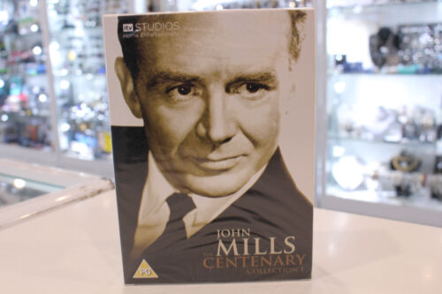 New - John Mills - The Centenary Collection I - 9 Disc Collection - DVD Region 2