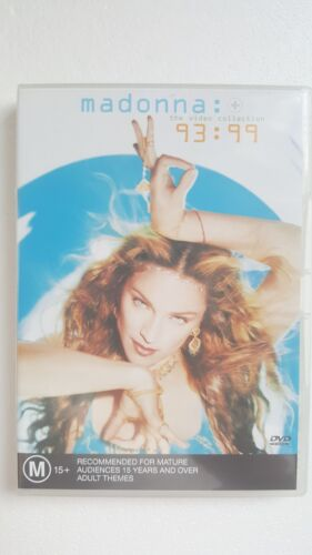 Madonna The Video Collection 93:99 [ DVD ] LIKE NEW, Regions 2-6, FREE Post