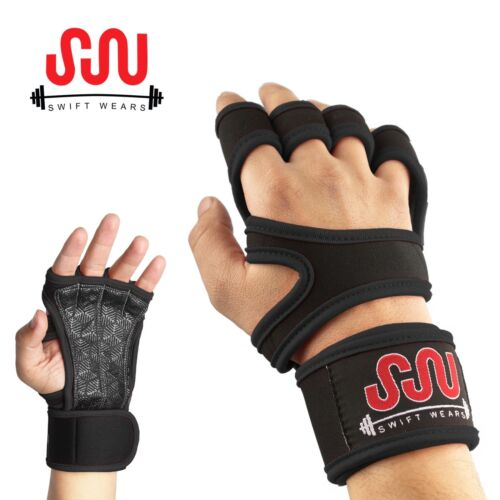 Fitness Gloves Weight Lifting Gym Workout Training Wrist Wrap Strap Men / Women <br/> 6 Beautiful Colors UNISEX Gloves