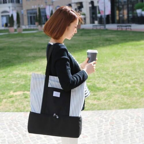 Lady Shoulder Bag Nappy Bag Picnic Bag with Thermal Insulated Stoarage