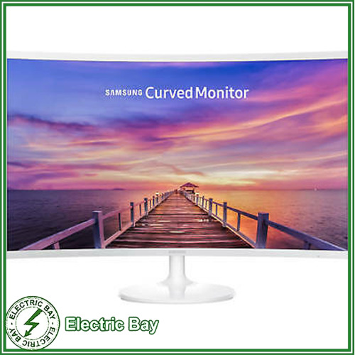"""SAMSUNG 32"""" FHD Gaming Monitor Curved HDMI DP VA LC32F391FWEXXY LCD LED"""