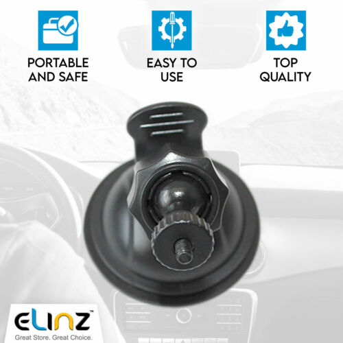 Mounting Bracket Suction Cup Holder Windshield Windscreen Mount for Car Dash Cam